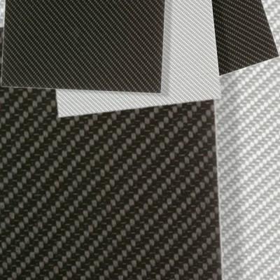 Thermoplastische Platte Duralite® CFK