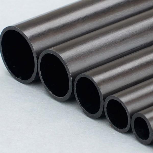 Carbon Rohr verbesserte Torsionssteifigkeit durch 45-Grad-Innengeflecht.