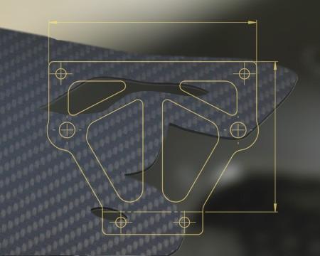 CFK CNC Frästeile Bauteile nach Zeichnung, Einzelstücke und Serie