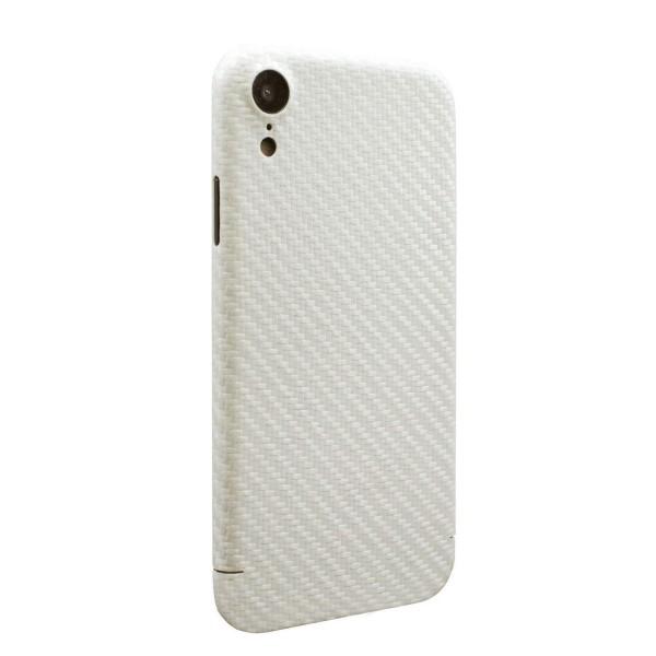Echt Carbon Cover Apple iPhone Xr Perlmutt