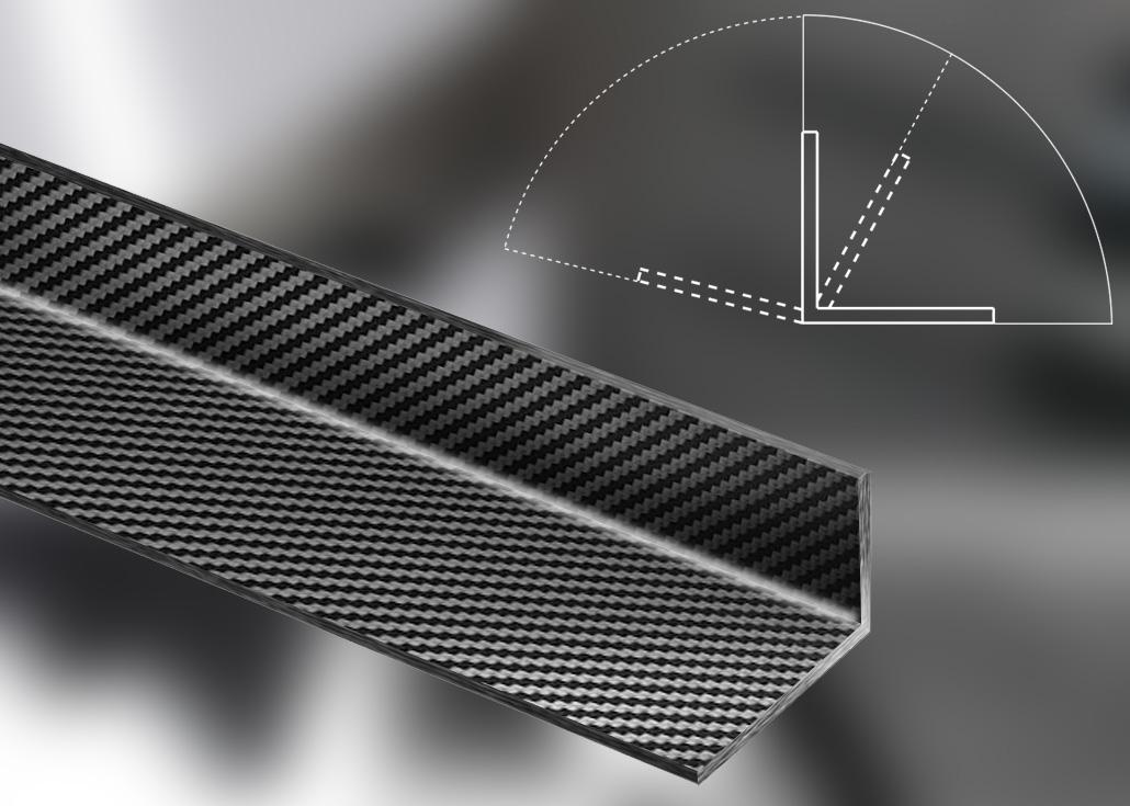 carbon-cfk-L-profil