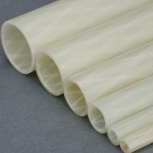 GFK Rohr Glasfaser Rohr mit Innengeflecht Internal Braiding Torsionssteif