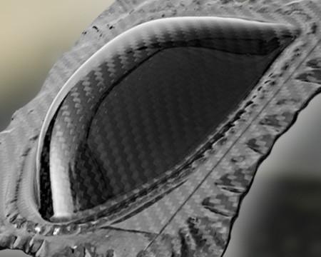 Thermoplastisches Carbon Plattenmaterial Class A Oberfläche