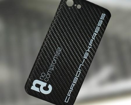 Carbon Visitenkarte mit Ihrem Logo in 4C bedruckt alternativ CNC gefräste Karten, Cover oder Design Produkte