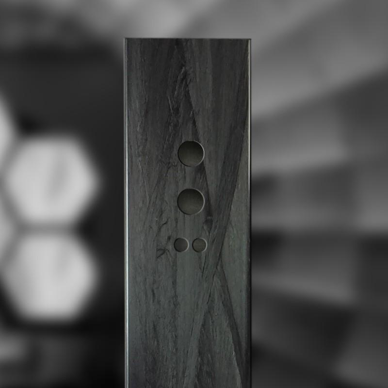 CFK Carbon Vierkant Rohr mit Filament Winding Verstärkung