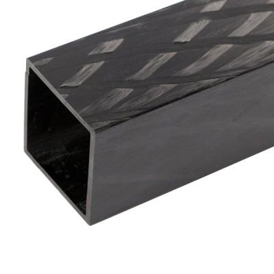 Carbon Vierkant Profil