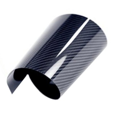 Echt-Carbon-Folie hochglänzend (CFK Platte)
