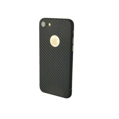 Carbon Cover iPhone 8 mit Logo Fenster