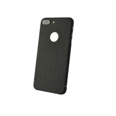 Carbon Cover iPhone 8 Plus mit Logo Fenster